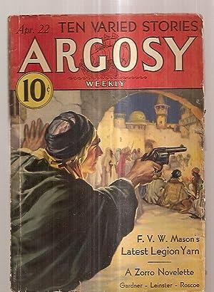 ARGOSY APRIL 22, 1933 VOLUME 237 NUMBER: Argosy) [cover by
