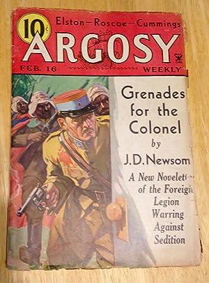 ARGOSY FEBRUARY 16, 1935 VOLUME 253 NUMBER: Argosy) [Ray Cummings,