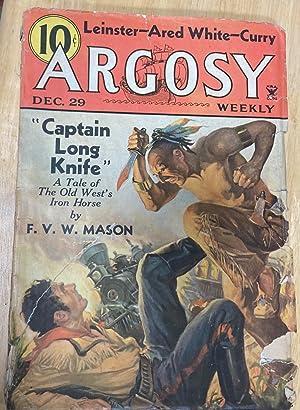 ARGOSY DECEMBER 29, 1934 VOLUME 252 NUMBER: Argosy) [cover by