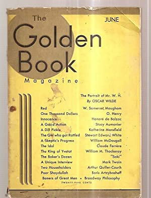THE GOLDEN BOOK MAGAZINE JUNE 1932 VOL. XV NO. 90