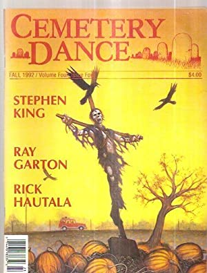 CEMETERY DANCE FALL 1992 VOLUME FOUR ISSUE: Cemetery Dance Magazine)