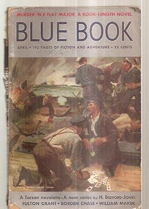 BLUE BOOK [BLUEBOOK] MAGAZINE APRIL 1940 VOL.: Blue Book Magazine)