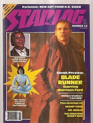 STARLOG NOVEMBER 1981 NUMBER 52: Starlog) [Susan Adamo,