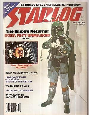 STARLOG SEPTEMBER 1981 NUMBER 50: Starlog) [Susan Adamo,