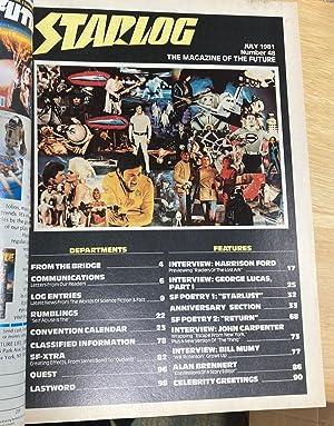 STARLOG JULY 1981 NUMBER 48: Starlog) [Susan Adamo,