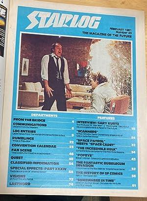 STARLOG FEBRUARY 1981 NUMBER 43: Starlog) [Susan Adamo,