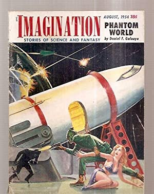 IMAGINATION: STORIES OF SCIENCE AND FANTASY AUGUST 1954 VOLUME 5 NUMBER 8