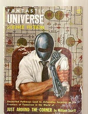 FANTASTIC UNIVERSE APRIL 1955 VOL. 3 NO.: Fantastic Universe) [cover