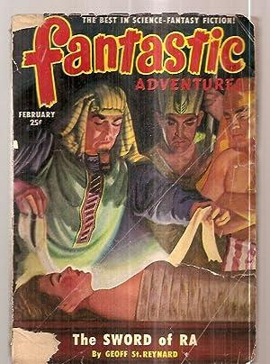 FANTASTIC ADVENTURES FEBRUARY 1951 VOLUME 13 NUMBER: Fantastic Adventures) [cover