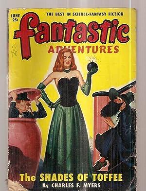 FANTASTIC ADVENTURES JUNE 1950 VOLUME 12 NUMBER: Fantastic Adventures) [cover
