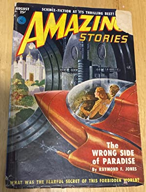 AMAZING STORIES AUGUST 1951 VOLUME 25 NUMBER: Amazing Stories) [cover
