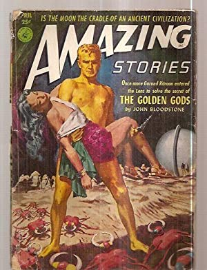 AMAZING STORIES APRIL 1952 VOLUME 26 NUMBER: Amazing Stories) [cover