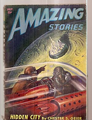 AMAZING STORIES JULY 1947 VOLUME 21 NUMBER: Amazing Stories) [cover