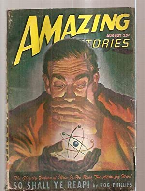 AMAZING STORIES AUGUST 1947 VOLUME 21 NUMBER: Amazing Stories) [cover