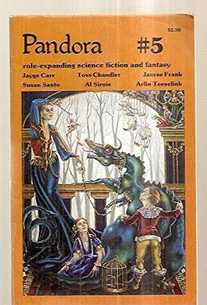 PANDORA #5 [ROLE-EXPANDING SCIENCE FICTION AND FANTASY]: Pandora) [front cover