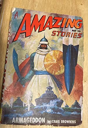 AMAZING STORIES MAY 1948 VOLUME 22 NUMBER 5: Amazing Stories) [cover paintings by Robert Gibson ...
