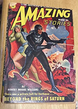 AMAZING STORIES MARCH 1951 VOLUME 25 NUMBER: Amazing Stories) [cover