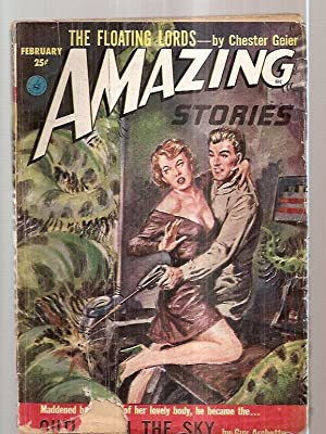 AMAZING STORIES FEBRUARY 1953 VOLUME 27 NUMBER: Amazing Stories) [cover