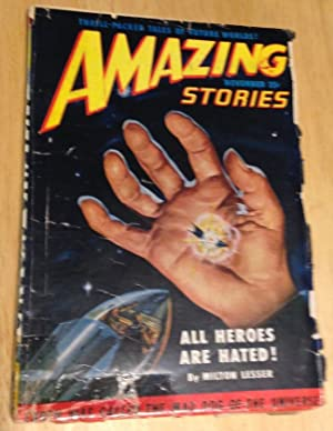 AMAZING STORIES NOVEMBER 1950 VOLUME 24 NUMBER: Amazing Stories) [cover