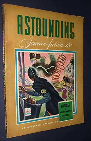 ASTOUNDING SCIENCE-FICTION SEPTEMBER 1942 VOL. XXX NO. 1