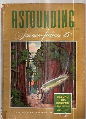 Astounding Science-Fiction April 1942 Vol. XXIX No.: Astounding Science-Fiction) [cover
