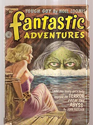 FANTASTIC ADVENTURES SEPTEMBER 1952 VOLUME 14 NUMBER: Fantastic Adventures) [cover