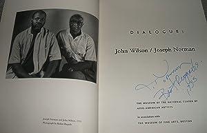 Dialogue: John Wilson / Joseph Norman: Wilson, John and