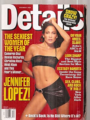 DETAILS DECEMBER 1998: Details) [cover photograph