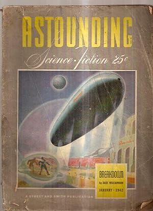 ASTOUNDING SCIENCE-FICTION JANUARY 1942 VOL. XXVIII NO.: Astounding Science-Fiction) [cover