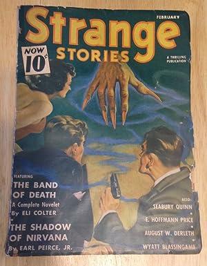 STRANGE STORIES FEBRUARY 1941 VOL. V NO.: Strange Stories) [E.