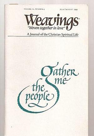 """WEAVINGS """"WOVEN TOGETHER IN LOVE"""" A JOURNAL: Weavings) [John S."""