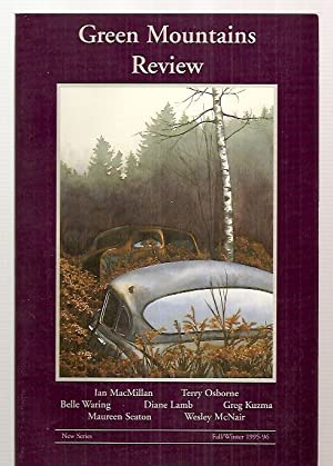 GREEN MOUNTAINS REVIEW NEW SERIES: VOL. VIII,: Green Mountains Review)
