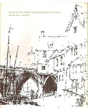 BULLETIN OF RHODE ISLAND SCHOOL OF DESIGN: Bulletin of the