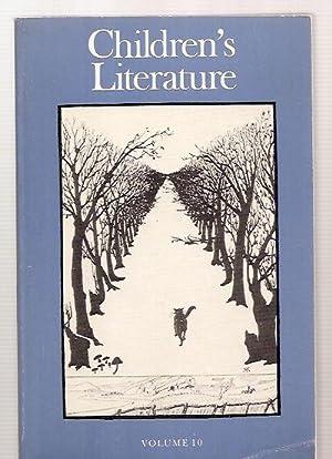 CHILDREN'S LITERATURE VOLUME 10 ANNUAL OF THE: Children's Literature) [Francelia
