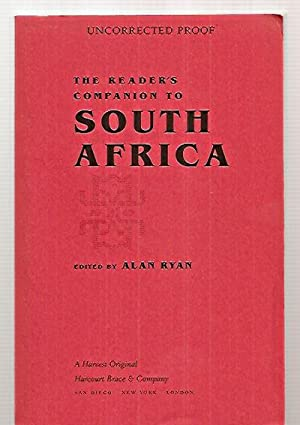 THE READER'S COMPANION TO SOUTH AFRICA: Ryan, Alan (edited
