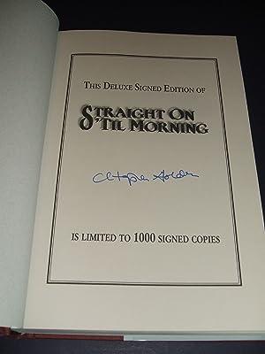 Straight on 'til Morning: Golden, Christopher [Dust Wrapper illustration by Michael Kaluta, ...