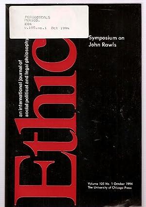 ETHICS: AN INTERNATIONAL JOURNAL OF SOCIAL, POLITICAL,: Ethics) Dworkin, Gerald
