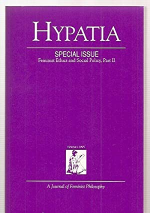 HYPATIA: A JOURNAL OF FEMINIST PHILOSOPHY SPECIAL: Hypatia) McAlister, Linda