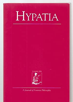 HYPATIA: A JOURNAL OF FEMINIST PHILOSOPHY VOL.: Hypatia) McAlister, Linda