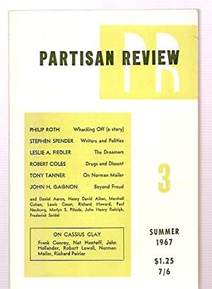 PARTISAN REVIEW: SUMMER 1967 VOLUME XXXIV NUMBER: Partisan Review) [Frank