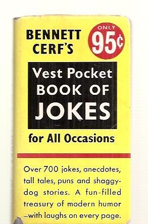 BENNETT CERF'S VEST POCKET BOOK OF JOKES: Cerf, Bennett