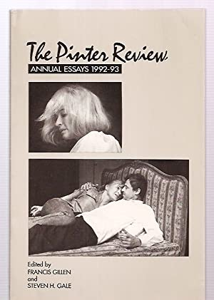 THE PINTER REVIEW: ANNUAL ESSAYS 1992-93: The Pinter Review)