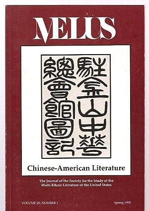 MELUS: THE JOURNAL OF THE SOCIETY FOR: Melus) Skerrett, Joseph,