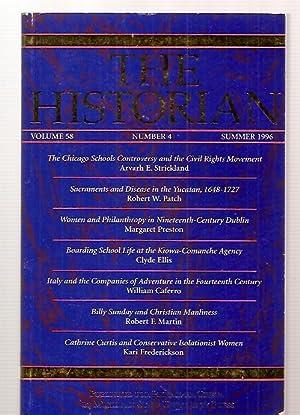 THE HISTORIAN VOLUME 58, NUMBER 4 SUMMER: The Historian) Johnson,