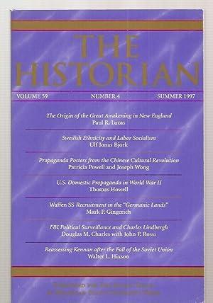 THE HISTORIAN VOLUME 59, NUMBER 4 SUMMER: The Historian) Johnson,