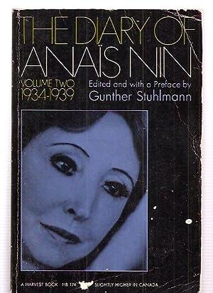 THE DIARY OF ANAIS NIN [VOLUME TWO]: Nin, Anais [edited