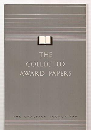 THE COLLECTED AWARD PAPERS: Silverberg, William V.,