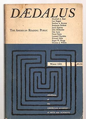 DAEDALUS: JOURNAL OF THE AMERICAN ACADEMY OF: Daedalus) Graubard, Stephen