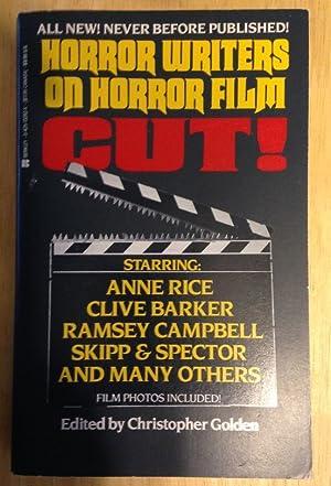 CUT! HORROR WRITERS ON HORROR FILM: Golden, Christopher (edited
