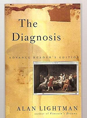 THE DIAGNOSIS [A NOVEL]: Lightman, Alan [cover inset painting by Jacques-Louis David, design by ...
